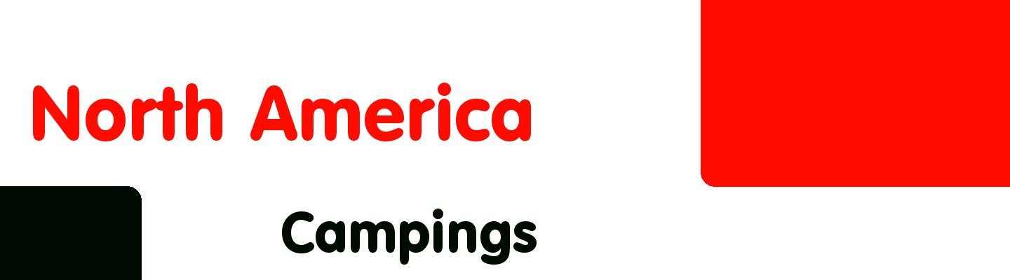 Best campings in North America - Rating & Reviews