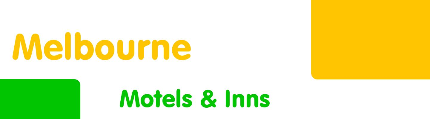 Best motels & inns in Melbourne - Rating & Reviews