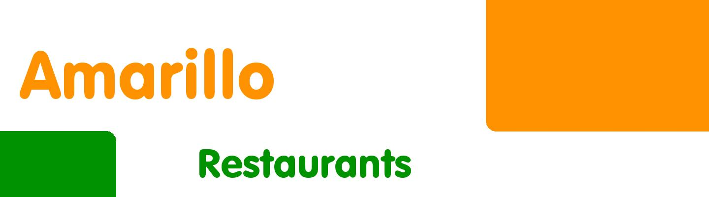 Top User Rated Restaurants Places In Amarillo